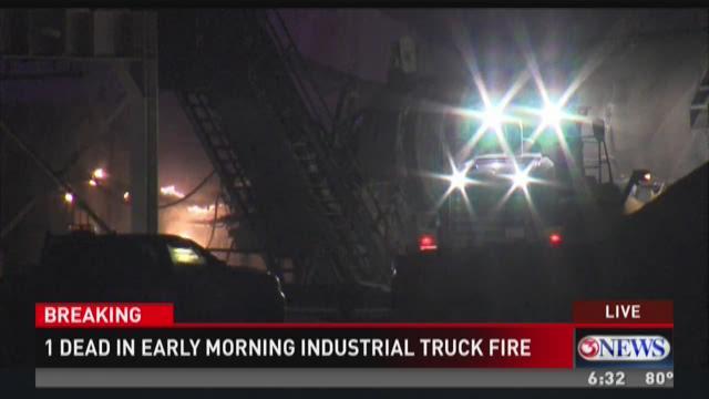 Industrial explosion