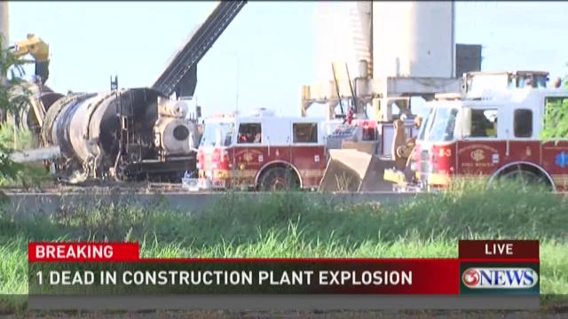 One Person Dead After Explosion